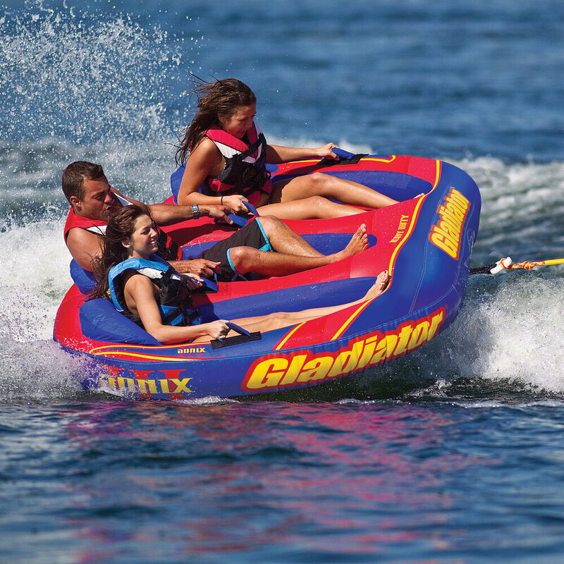 Gladiator Sonix 3-Person Towable Tube image number 2