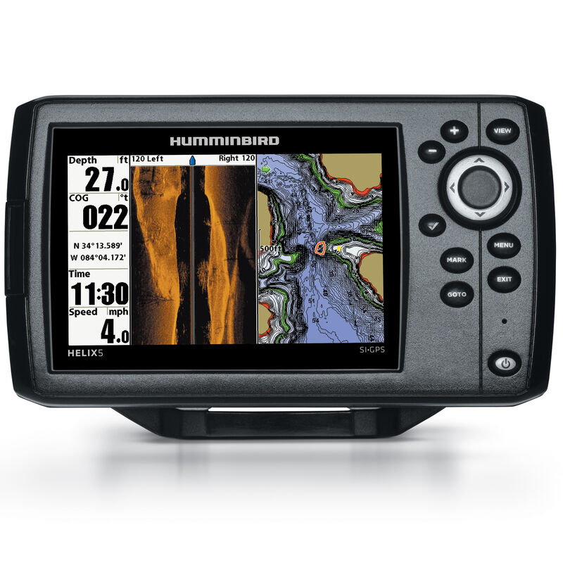 Humminbird Helix 5 SI Fishfinder GPS Combo image number 1