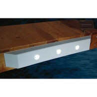 "Taylor Made Straight Dock Cushion with Solar LED Lights, 36""L"
