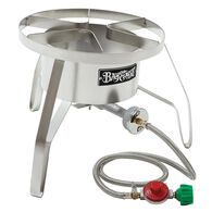 """Bayou Classic® Stainless HP Cooker 14"""" wide, 10 psi"""