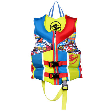 Hyperlite Pro V Child Life Jacket, Blue/Red