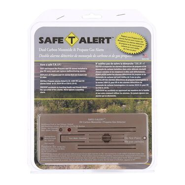 Safe-T-Alert 35 Series Flush Mount Dual LP & Carbon Monoxide Alarm, Brown