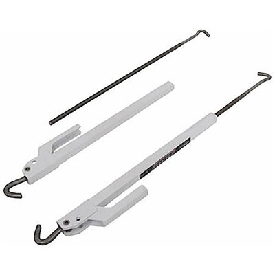 """Torklift S9529 FastGun Turnbuckles, Long Range 25"""" - 43"""", White"""