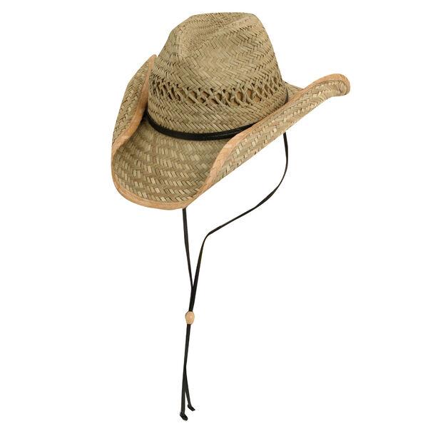 Dorfman Pacific Men's Western Rush Straw Hat