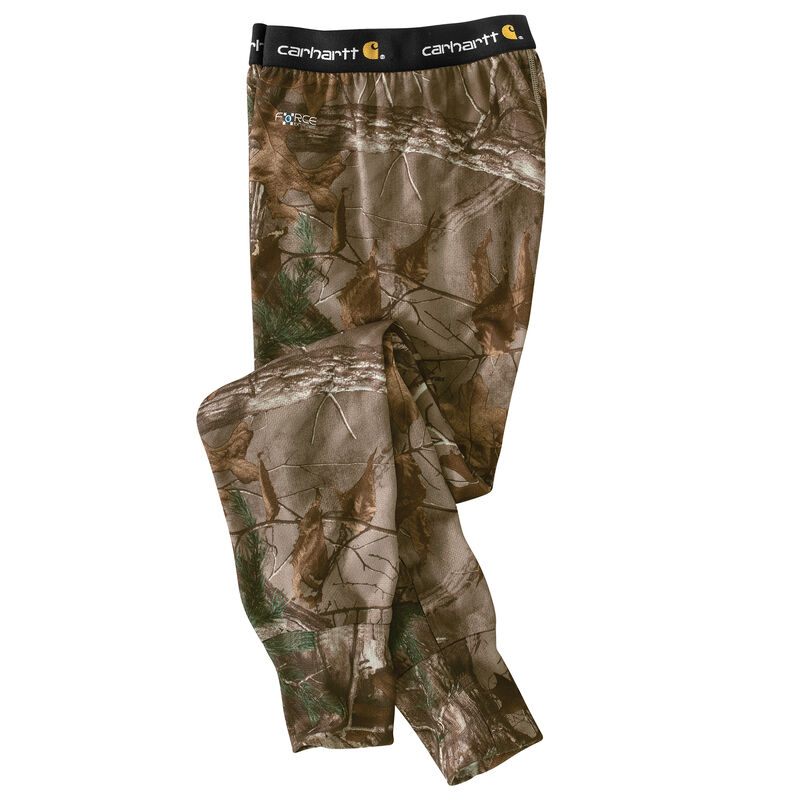 Carhartt Men's Base Force Extremes Cold Weather Camo Bottom<br /> image number 3
