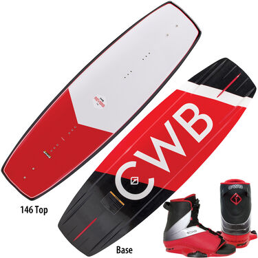 CWB Reverb Wakeboard With Empire Bindings