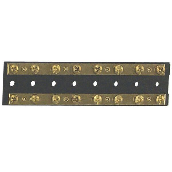 Sierra Dual Brass Bus Bar, 16 Screw Terminals