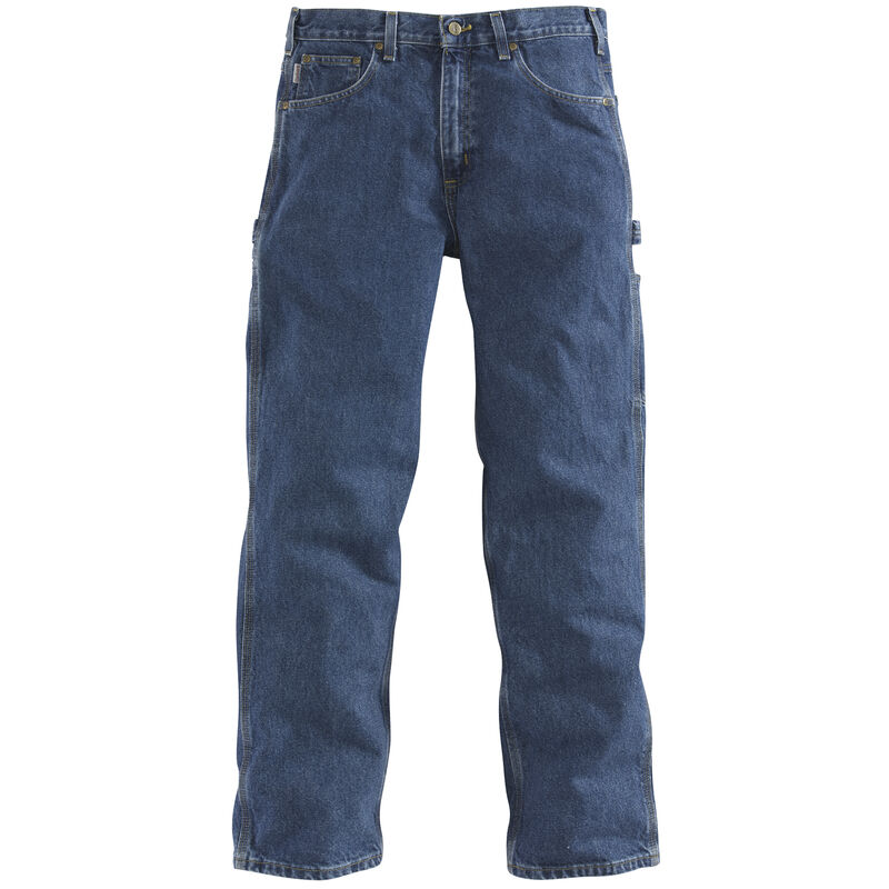 Carhartt Men's Relaxed-Fit Carpenter Jean image number 4