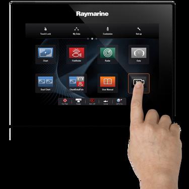 "Raymarine gS125 12.1"" Glass Bridge MFD"
