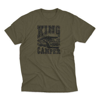The Stacks Men's King Of The Camper Short-Sleeve Tee