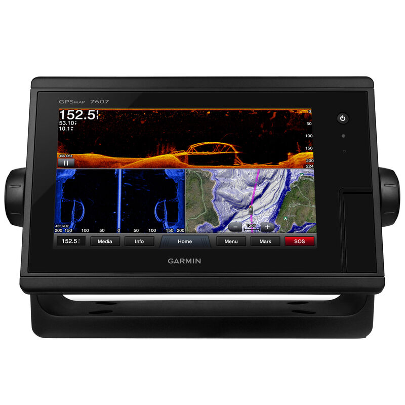 """Garmin GPSMAP 7607 7"""" Touchscreen Chartplotter With J1939 Port image number 1"""