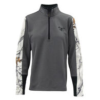 TrueTimber Women's Performance Quarter-Zip Pullover