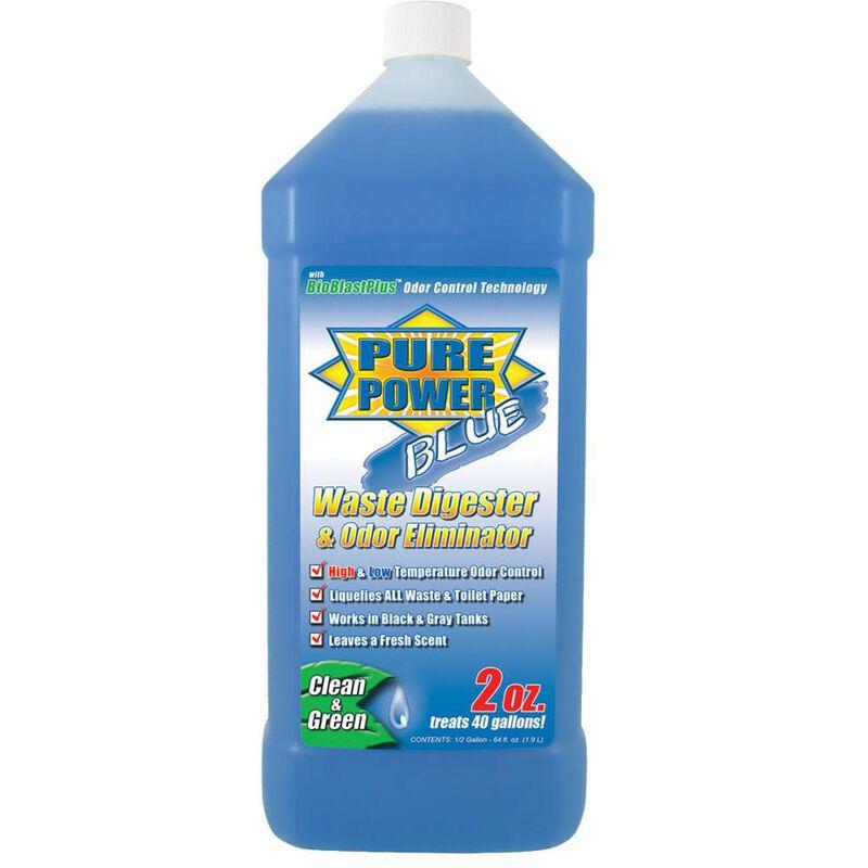 Pure Power Blue Waste Digester and Odor Eliminator - 64 oz. image number 1