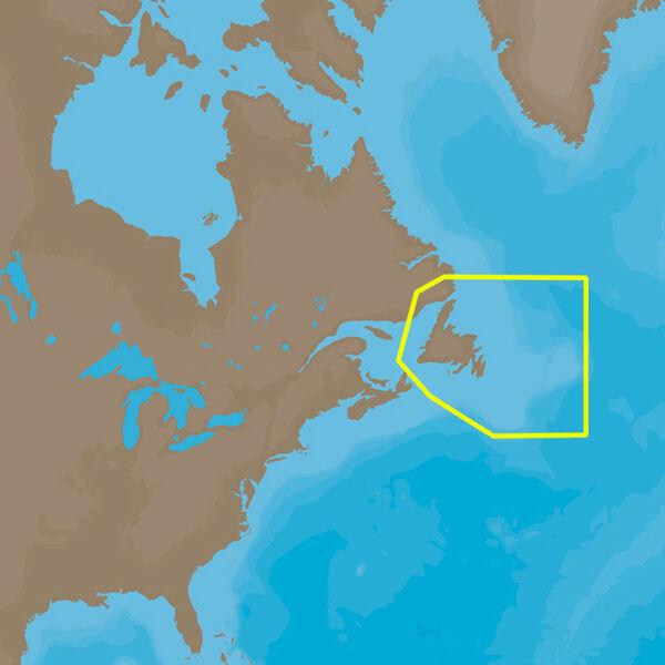 C-MAP 4D NA-D937 Cartography, Newfoundland