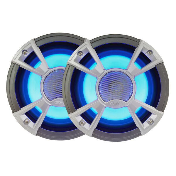 """Clarion CMQ1622RL 6.5"""" 2-Way LED Speakers"""