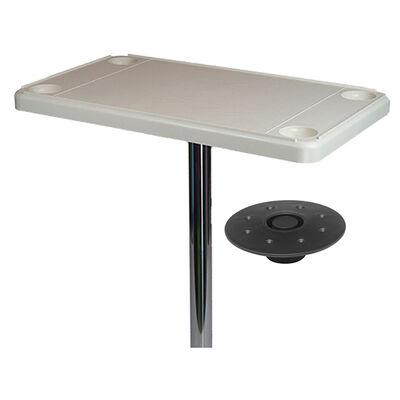 DetMar Rectangular Flush Mount Table Kit
