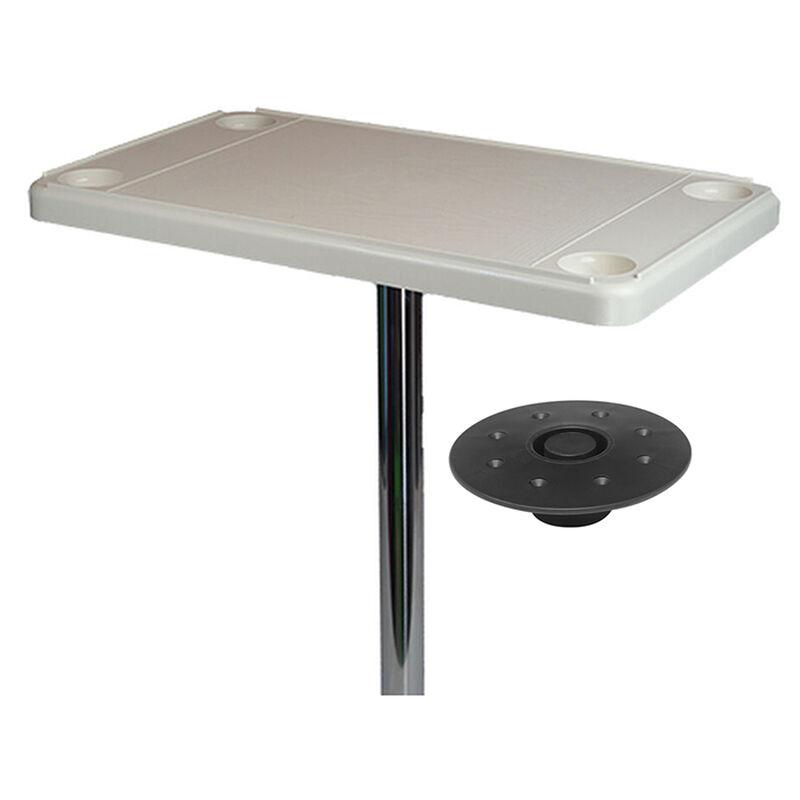 DetMar Rectangular Flush Mount Table Kit image number 1