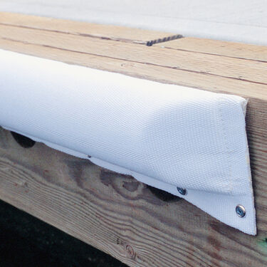 """Dock Bumper (Large 5-1/2""""W x 2-1/4""""D) White 3'"""