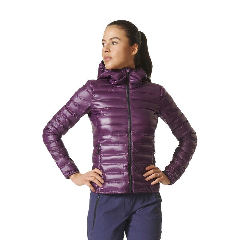 Adidas Women's Terrex Lite Down Hooded Jacket image number 2