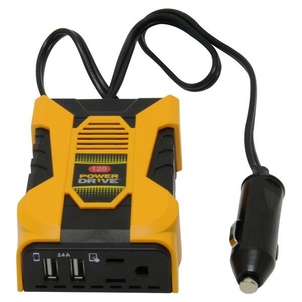 PowerDrive 120-Watt Slim Plug-In Inverter