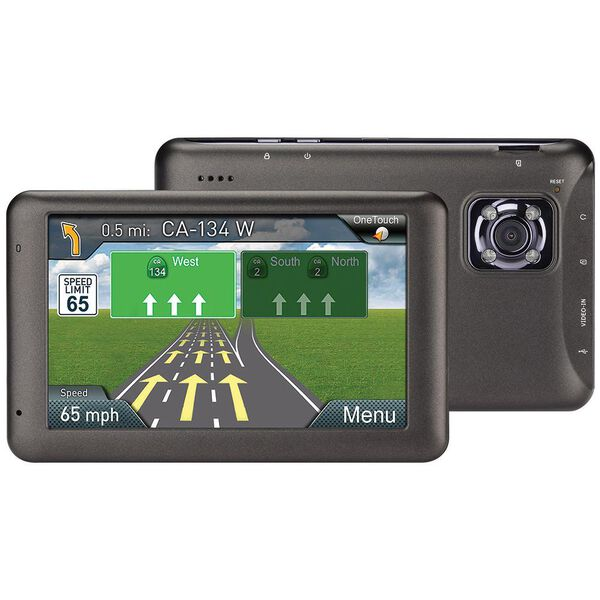 "Magellan RoadMate 6230-LM 5"" GPS and Integrated Dashcam"