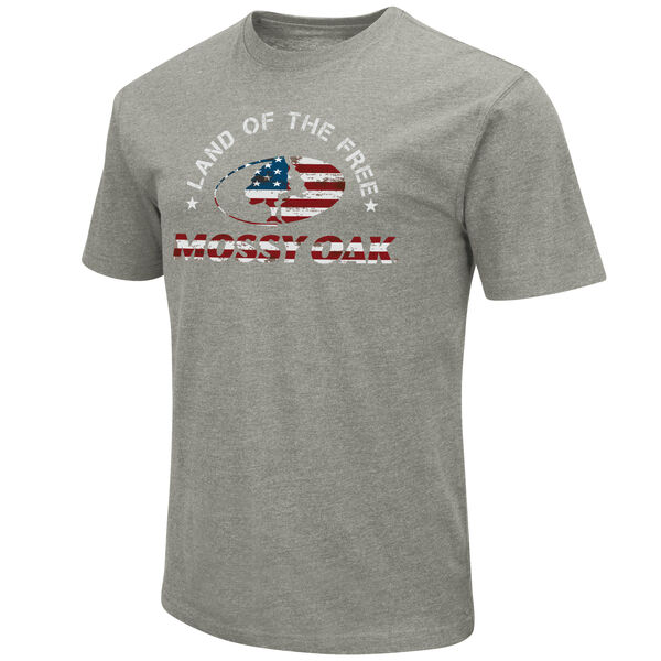 Mossy Oak Men's Land Of The Free Short-Sleeve Tee