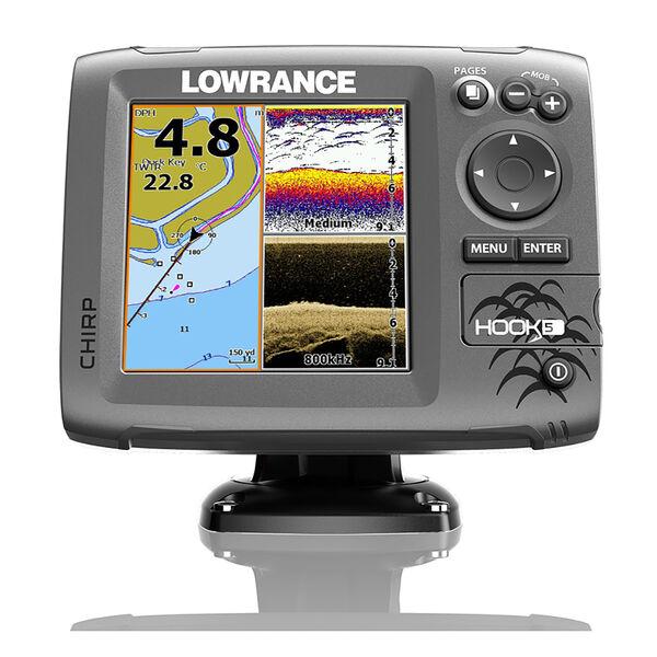 Lowrance HOOK-5 CHIRP DSI Fishfinder Chartplotter