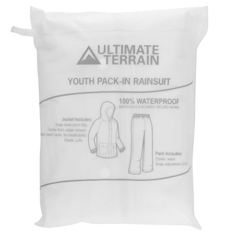 Ultimate Terrain Youth Pack-In Rain Suit image number 27