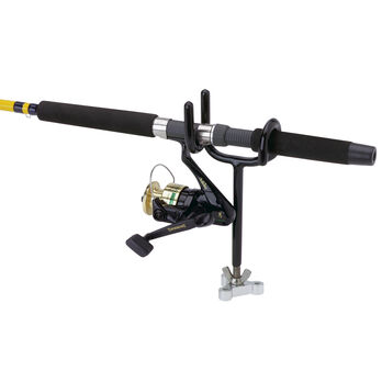 Attwood Sure Grip Steel Horizontal Fishing Rod Holder