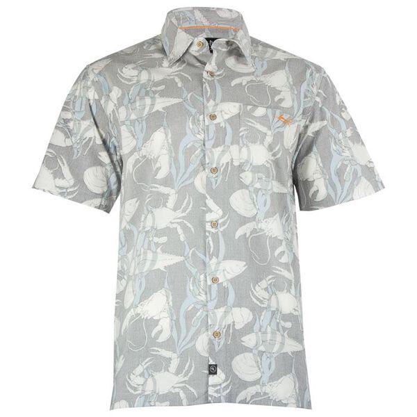 Salt Life Men's Ocean Fest Short-Sleeve Woven Shirt