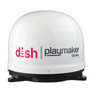 DISH® Playmaker® Dual Portable Satellite Antenna, White