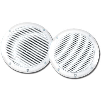 "Poly-Planar MA4056 6"" Dual Cone Integral Ultra-Low Magnetic Field Speakers, Pair"