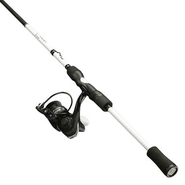 13 Fishing Source X Defy White Spinning Combo