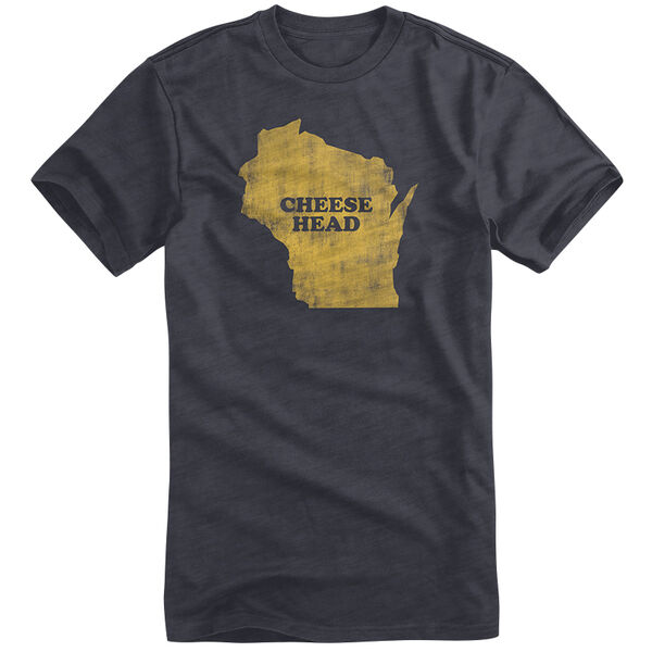Points North Men's Wisconsin State Pride Short-Sleeve Tee
