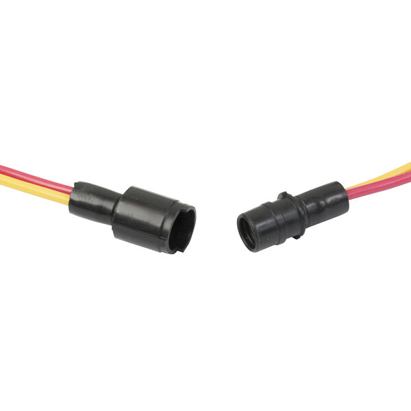 Ancor DrySeal Watertight Double Connectors, 14/2 AWG, Red/Yellow