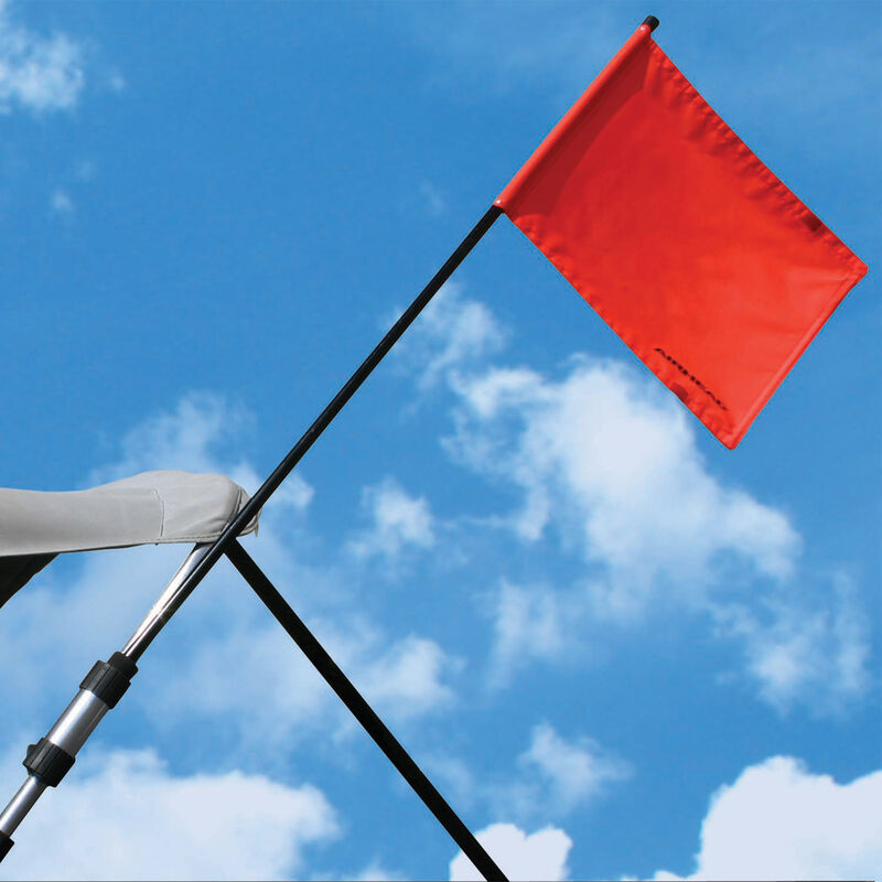 Watersports Flag Holder For Bimini Tops And Pylon Extensions image number 1