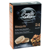 Bradley Flavor Bisquettes, 24-Pack, Mesquite