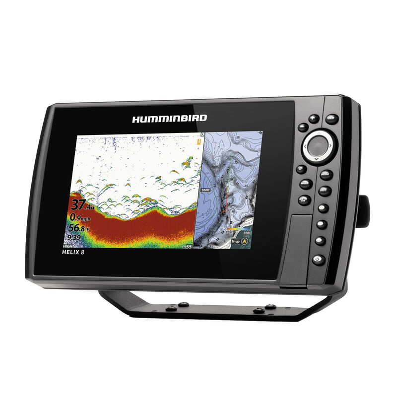 Humminbird Helix 8 CHIRP MEGA SI+ GPS G3N Fishfinder Chartplotter image number 3