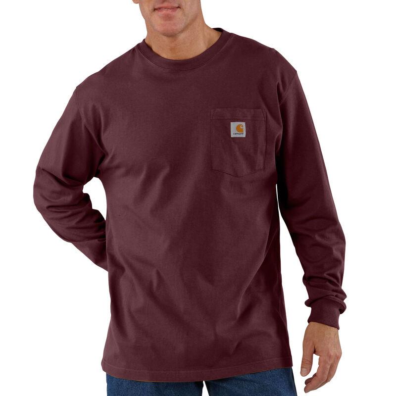 Carhartt Men's Workwear Long-Sleeve Pocket Tee image number 5