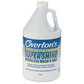 Overton's Super Shine Waterless Wash And Wax, 1 Gallon