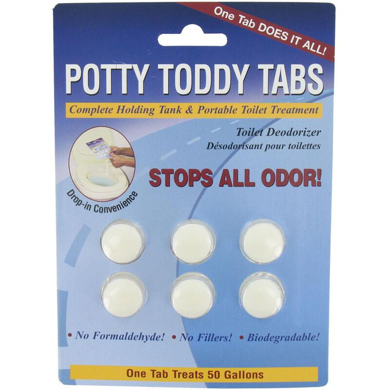 Potty Toddy Tabs - Pkg. of 6 image number 1