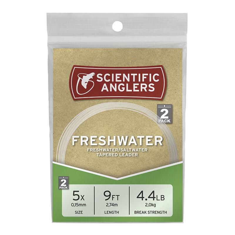 Scientific Anglers 9' Nylon Freshwater/Saltwater Leaders, 2-Pack image number 1