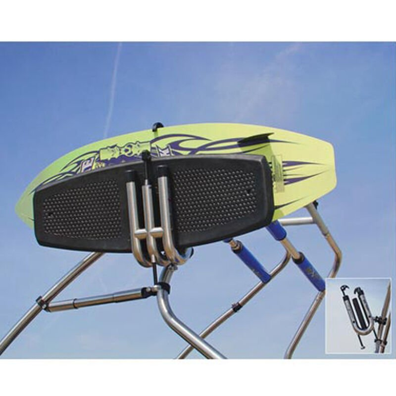 """Fly High Pro X Series Stainless Board Rack, fits 1-7/8"""" - 2"""" dia. tube image number 2"""