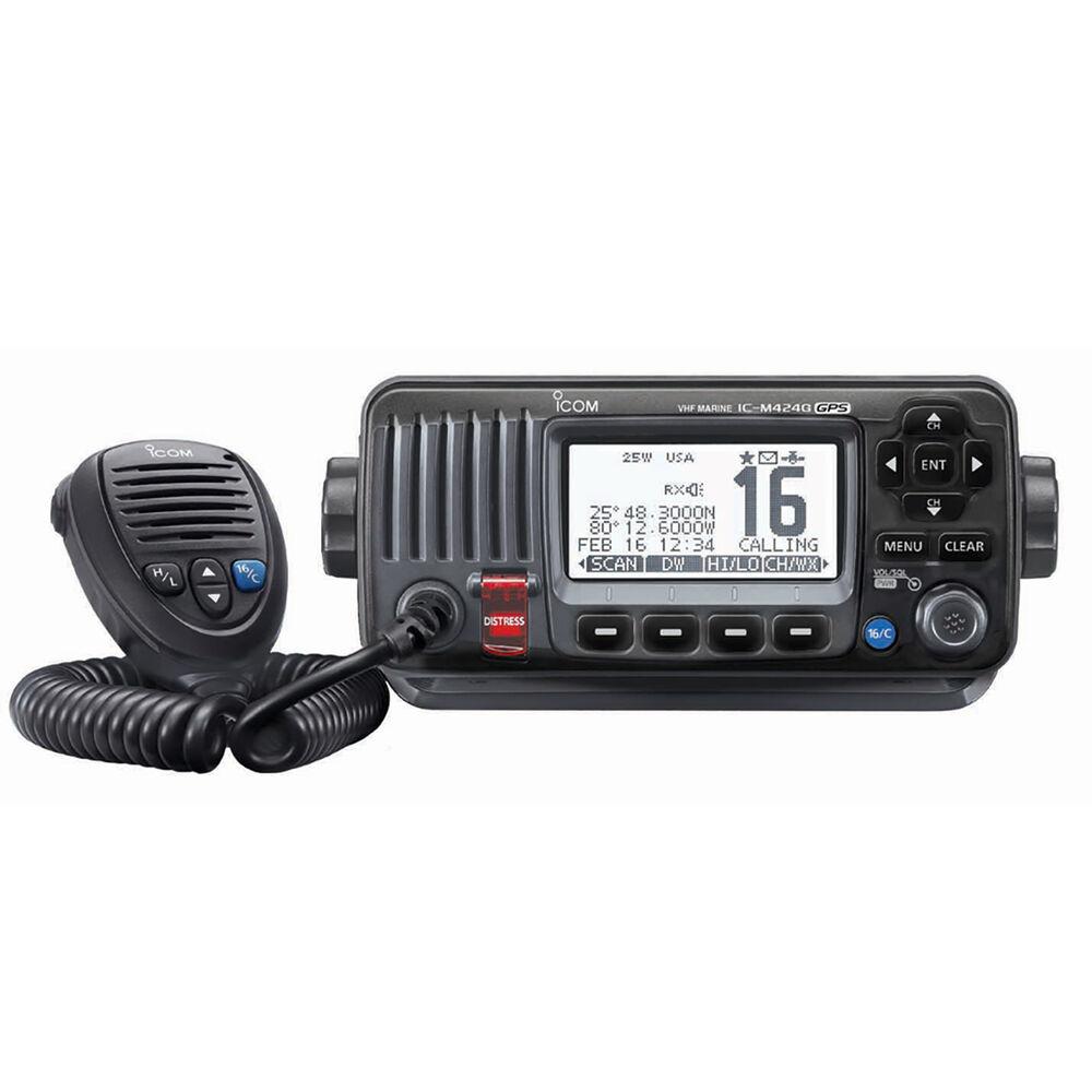 ICOM M424G VHF Radio