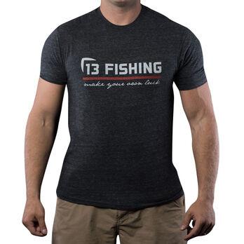 13 Fishing Red Line Tee