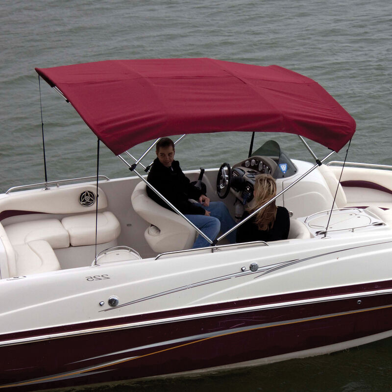 """Shademate Bimini Top Sunbrella Fabric and Boot Only, 4-Bow 8'L, 42""""H, 61""""-66""""W image number 1"""