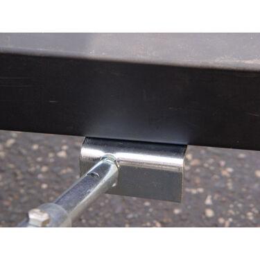 Adjustable Frame-Mount Transom Saver