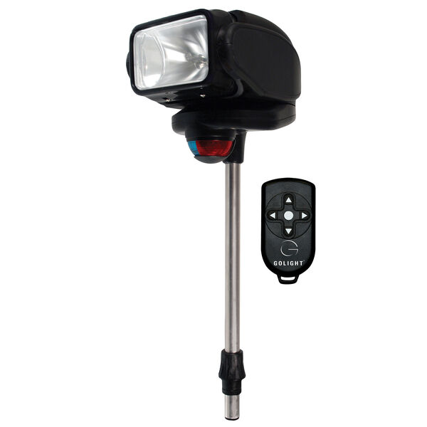 Golight GoBee Stanchion Mount Bow Light With Wireless Remote