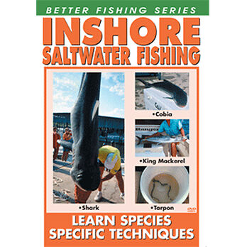 Bennett DVD - Inshore Saltwater Fishing: Learn Species Specific Techniques