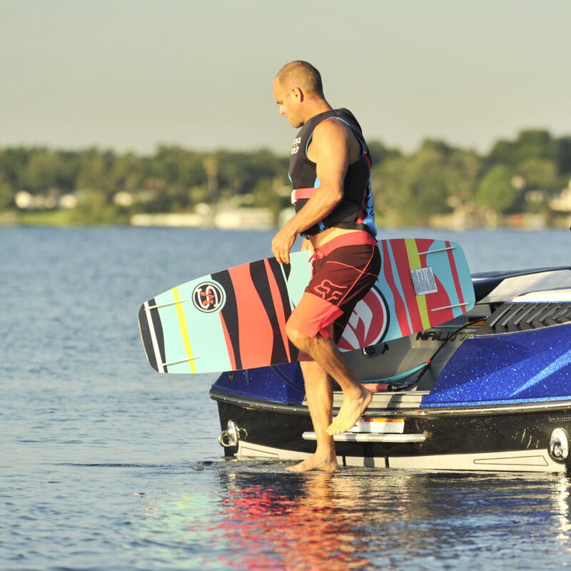 Hyperlite Murray 139 Wakeboard With Remix Bindings image number 2